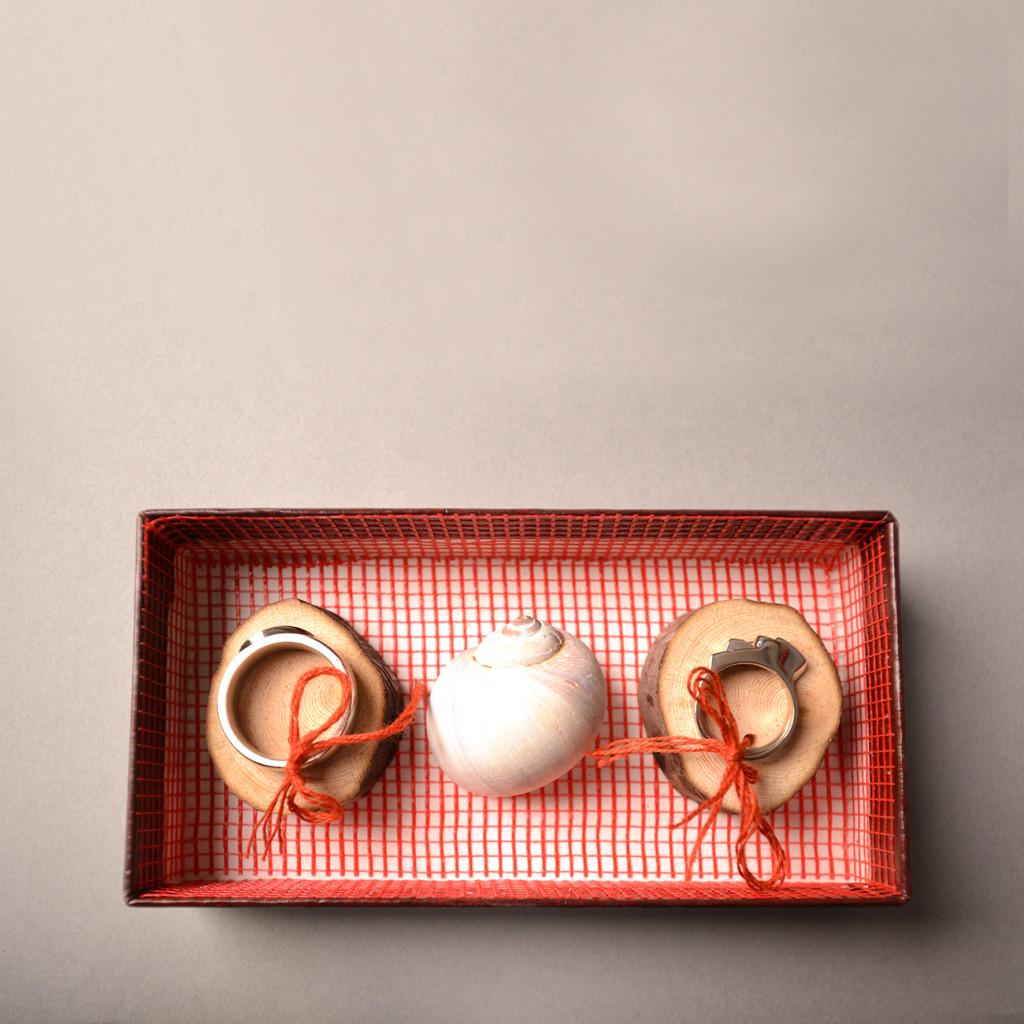 Spiral Wedding Ringset